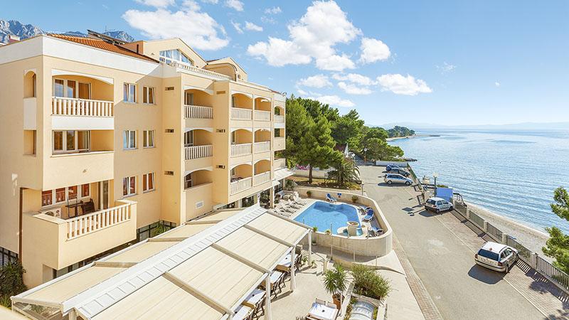 Lägenhetshotell Milenij - Baska Voda