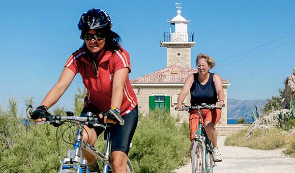 Cykelsemester i Kroatien