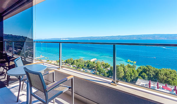 Hotell Plaza Duce - Omis