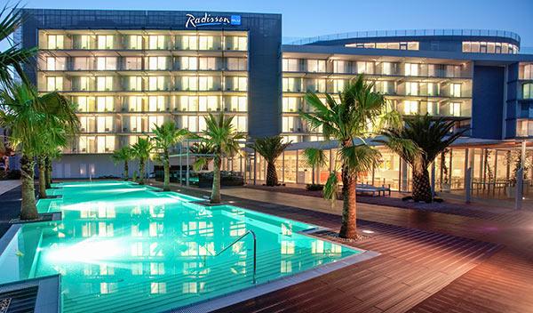Hotell Radisson Blu - Split